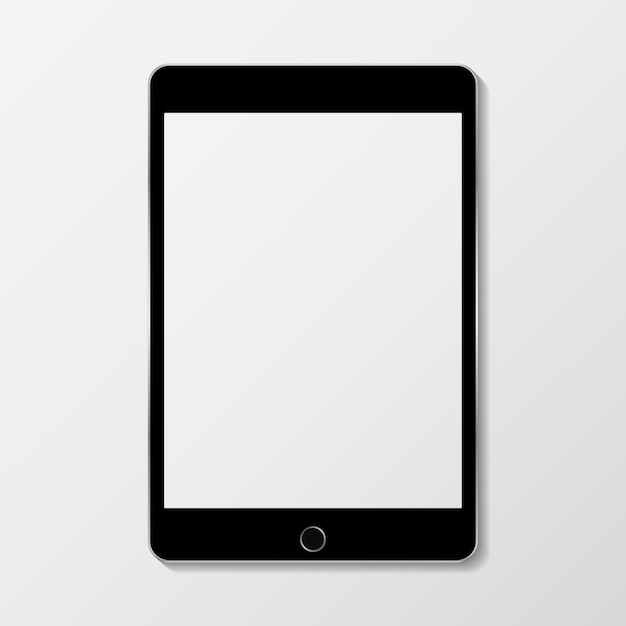 Digital device mockup Free Vector
