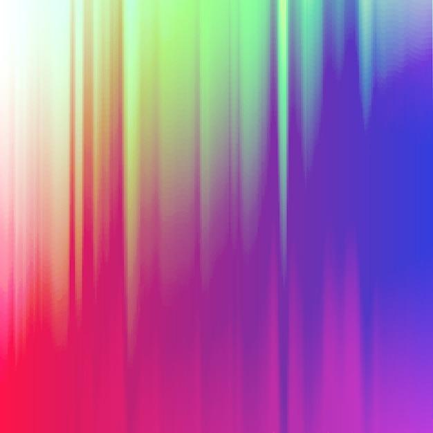 デジタル画像データの歪み。あなたのデザインのカラフルな抽象的な背景。 無料ベクター