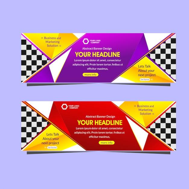 Digital marketing agency banner template | Premium Vector