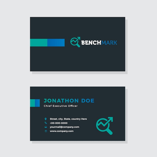 Digital Marketing Business Card Design Vector Premium Download