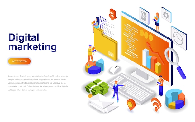 23+ Digital Marketing Vector Freepik
