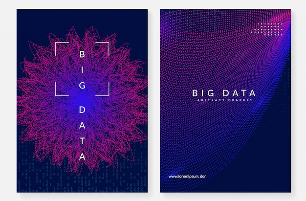 Digital technology abstract background. artificial intelligence, Premium Vector