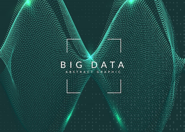 Digital technology abstract background. artificial intelligence Premium Vector