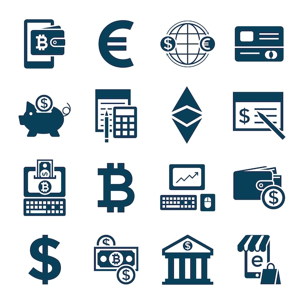 is cryptocurrency electronic money