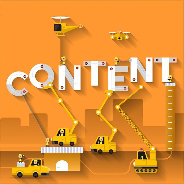Digital word concept Premium Vector