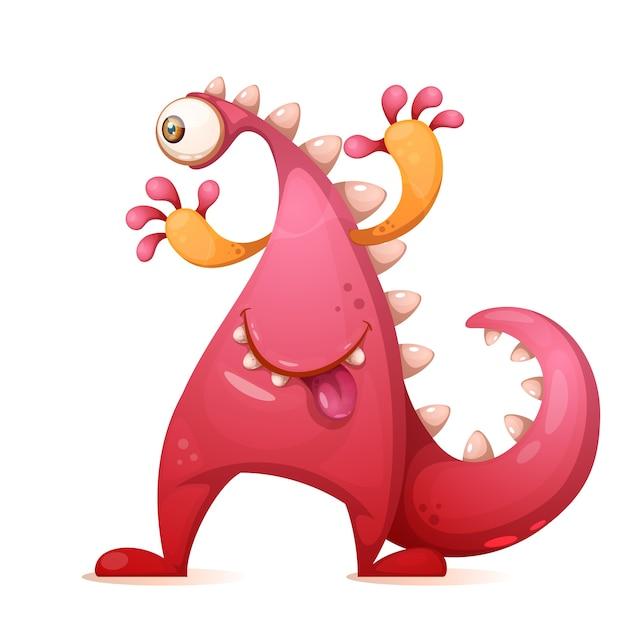Dino characters Premium Vector