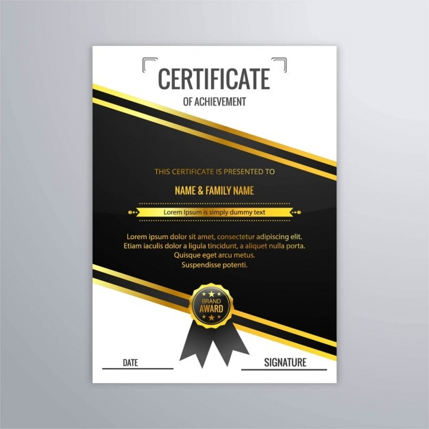 diploma a gold seal vector  diploma a gold seal vector