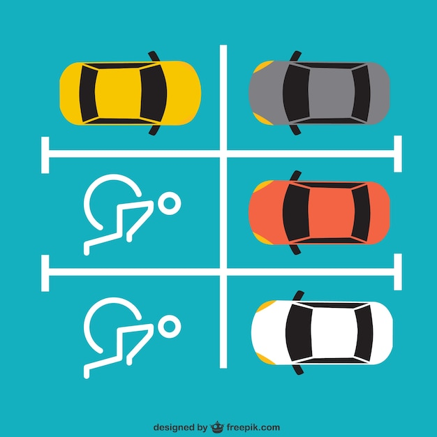 Disabled parking Free Vector