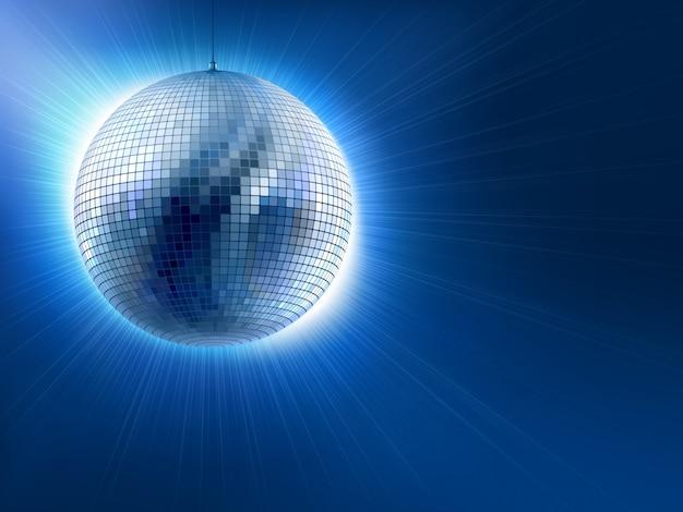 Disco ball Premium Vector