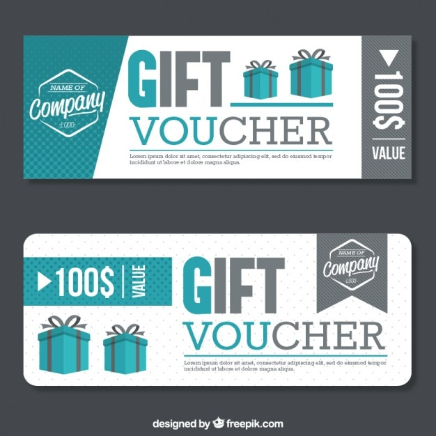 20 free coupon and gift voucher templates vector download discount gift voucher free vector yadclub Images