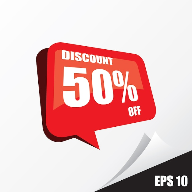 discount promotion Premium Vector
