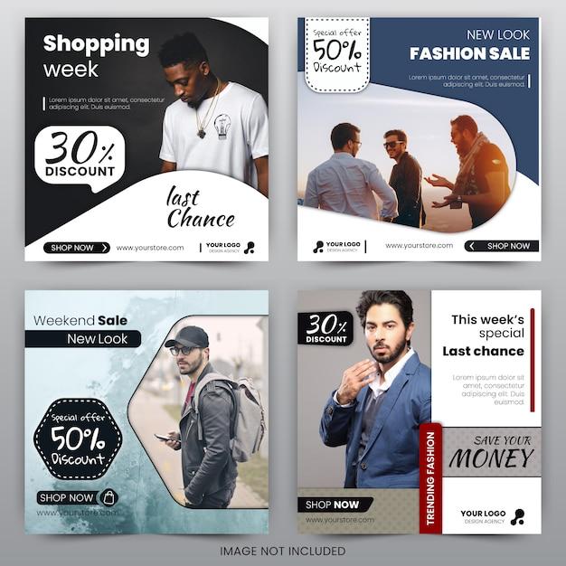 Discount sale banner Premium Vector