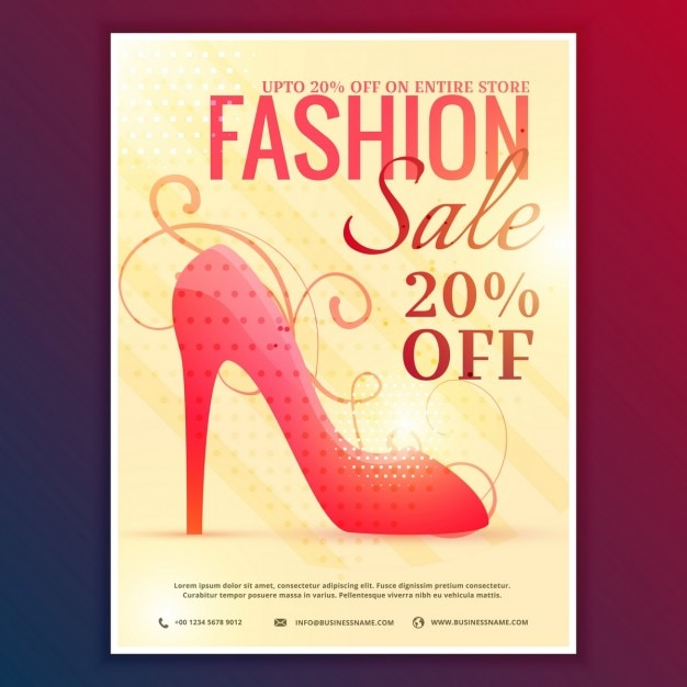 Discount voucher for clothing stores
