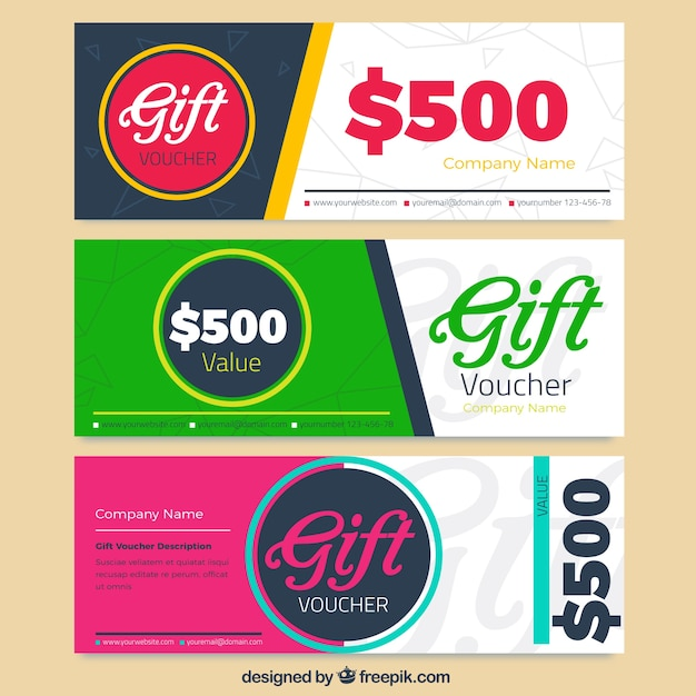 Superior Discount Voucher Pack Free Vector  Free Discount Vouchers