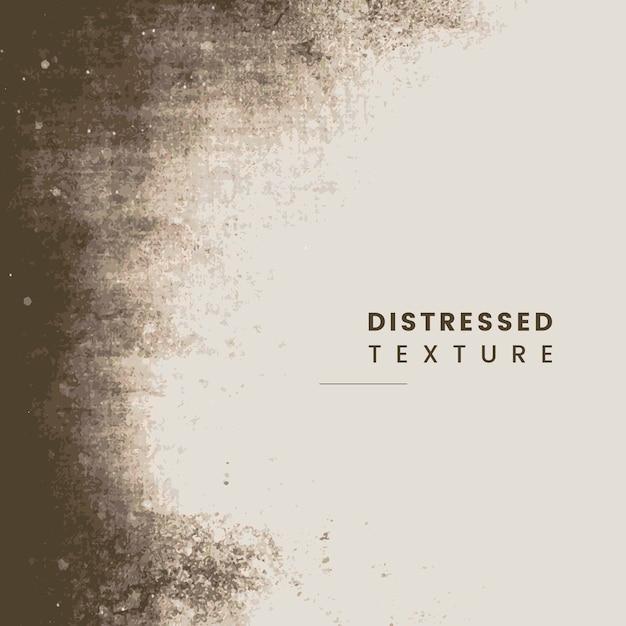 Distressed beige texture Free Vector