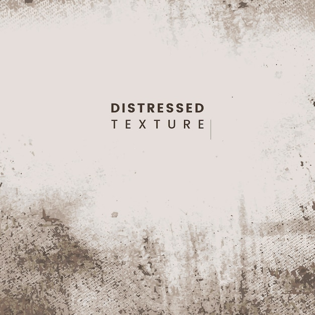 Distressed beige texture Free Vector