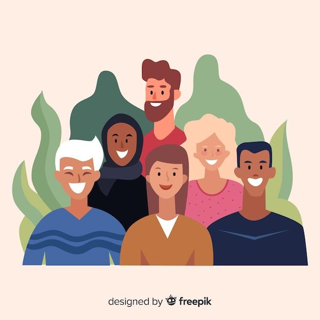 Diversity Free Vector