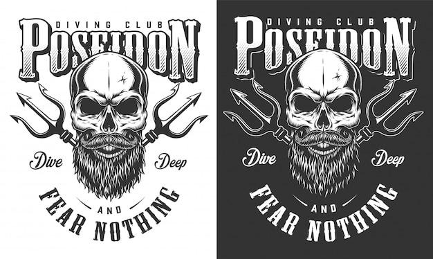 Diving apparel illustration Free Vector