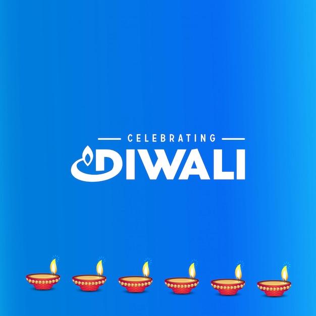 Diwali design Free Vector