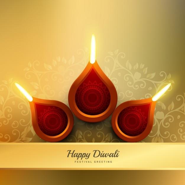 Diwali Festival Diya Vector Design Illustration Vector