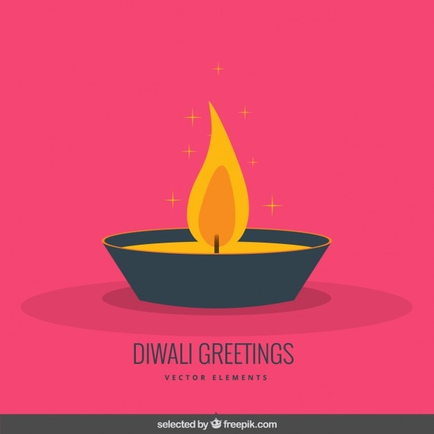 Diwali greeting in flat design style vector free download diwali greeting in flat design style free vector m4hsunfo