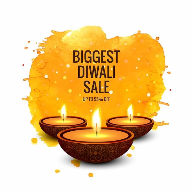 Diwali super sale colorful banner design vector Premium Vector