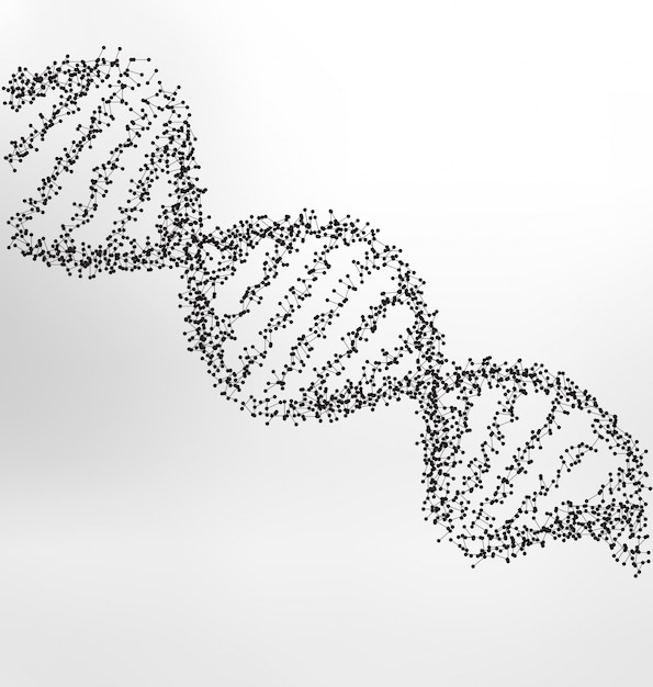 Dna vectors photos and psd files free download dna medical background malvernweather Image collections
