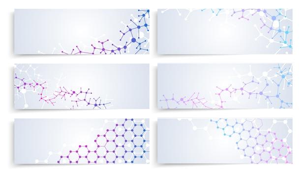 Dna molecule structure Premium Vector