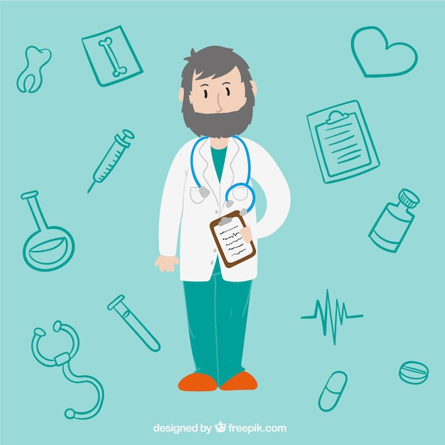 Doctor illustration
