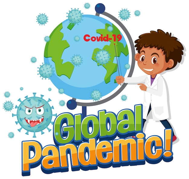 Doctor Show Covid-19 Global Pandemic