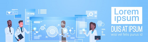 Doctors group use virtual computer interface innovation technology