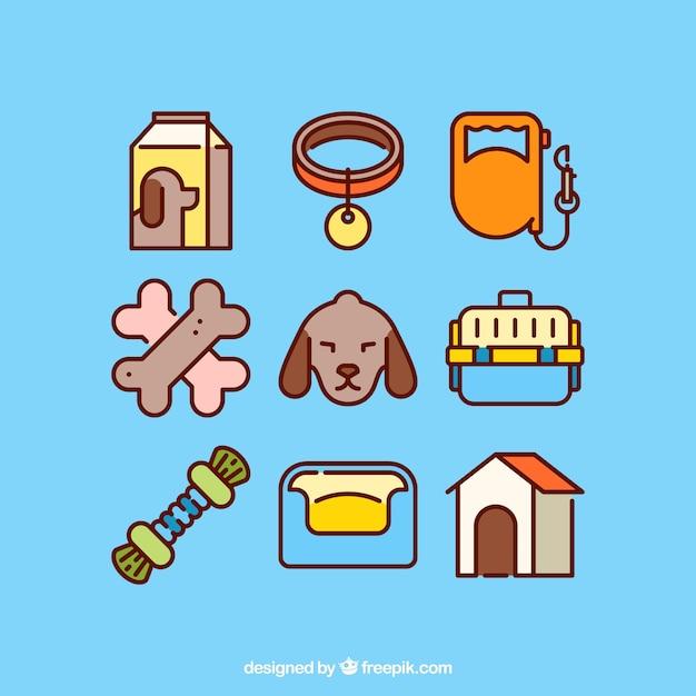Dog elements pack