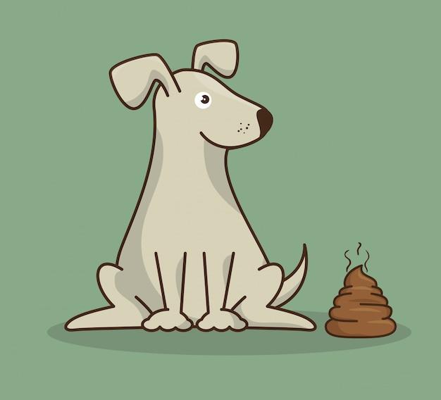 Dog pet shop icon Free Vector