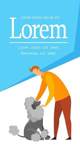 Dog Walking Template from image.freepik.com