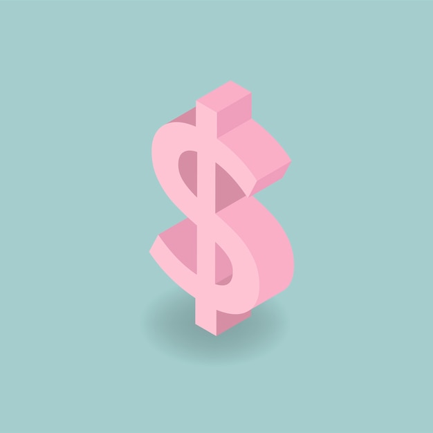 Dollar sign Free Vector