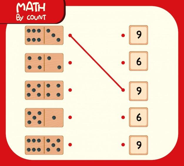 Таблица соответствия номеров domino Premium векторы