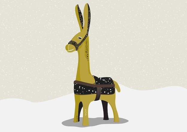 Donkey Vector Free Vector