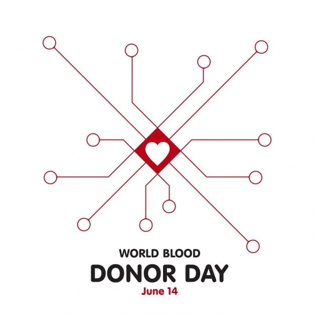14 июня мировые донорской крови доноров день сеть инфографика Бесплатные векторы