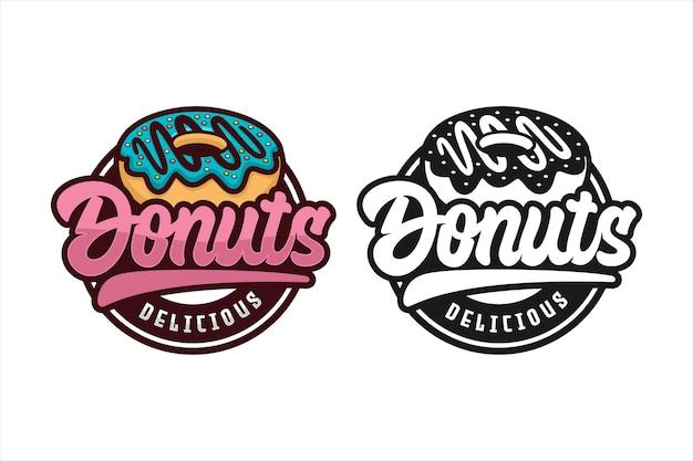 Donut delicious  logo