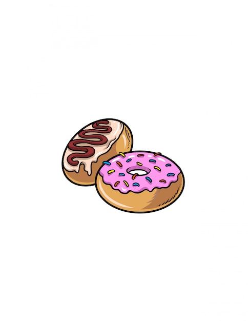Donuts Premium Vector