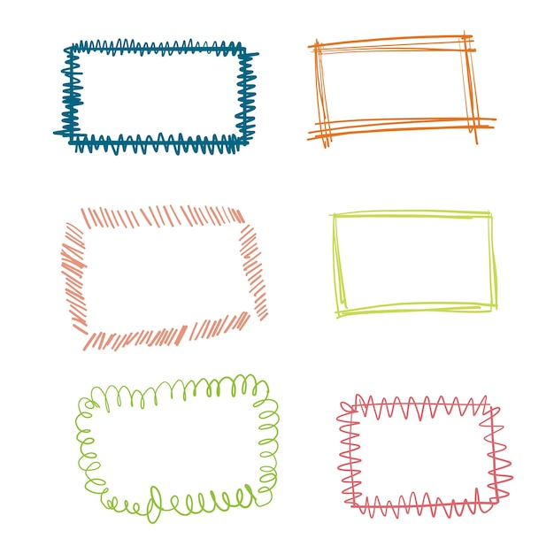 Doodle Frame Vectors, Photos and PSD files | Free Download