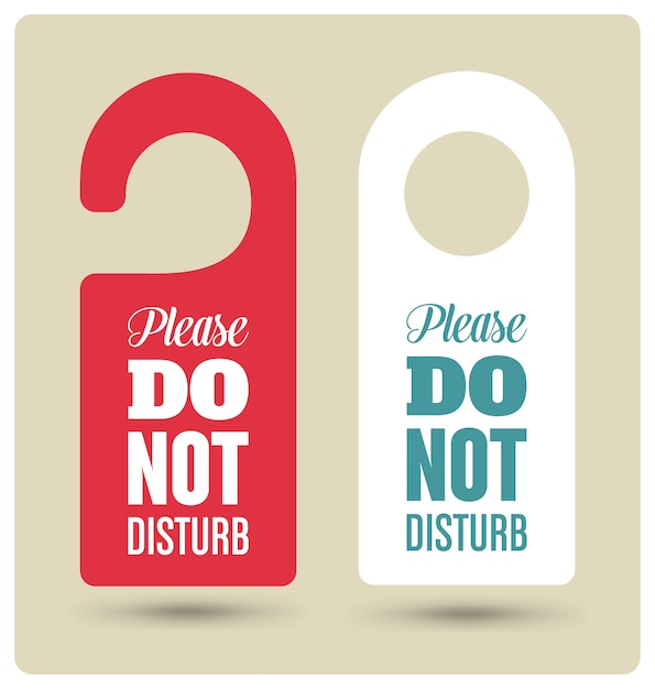 cool door hangers. Door Hangers Set Free Vector Cool