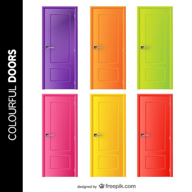 Doors Free Vector Set Vector Free Download