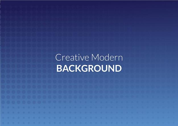 Dot style creative modern background Premium Vector