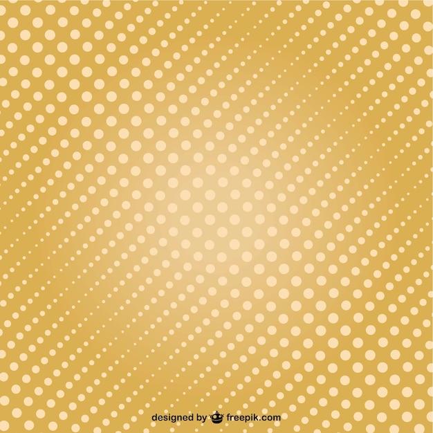 Retro blue polka dot background Vector Image #40607 - RFclipart