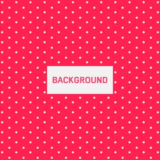 Dotted cute background Free Vector