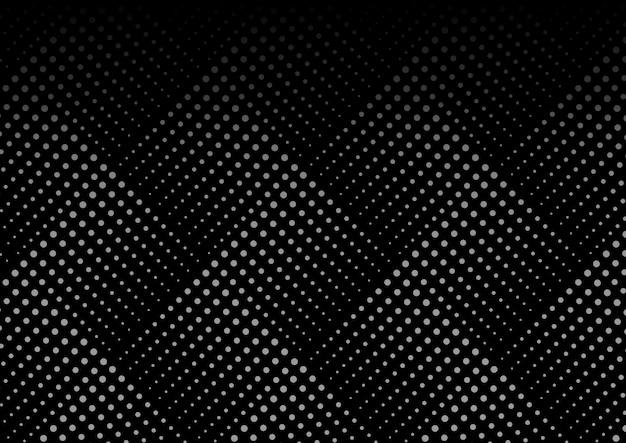 Dotted line geometric seamless pattern Premium Vector