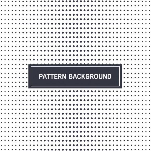 الگوی نقطه چین در سیاه و سفید
