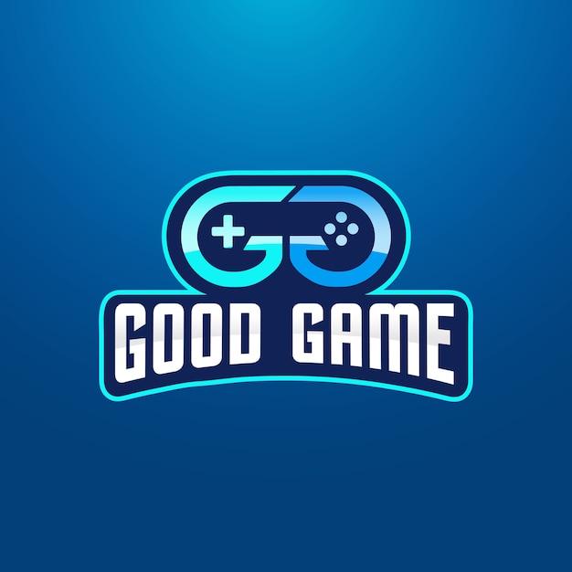 Double letter g игровой логотип Premium векторы