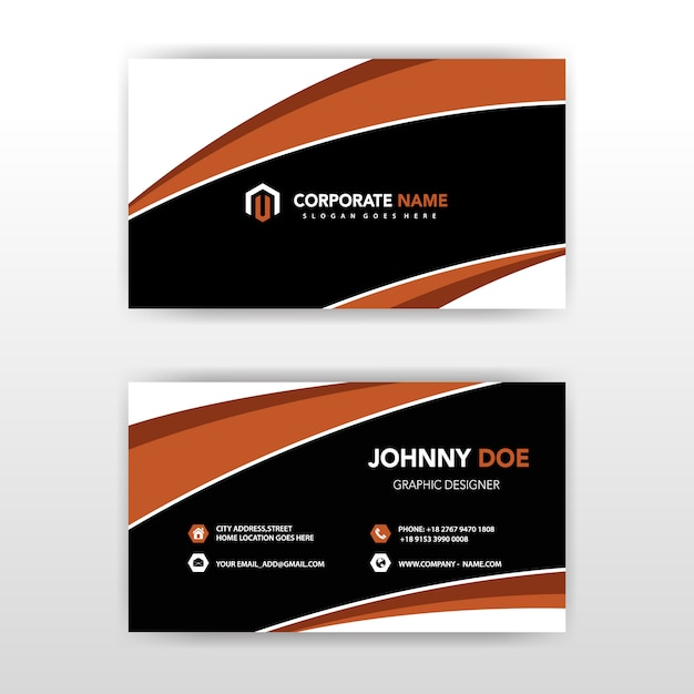 Free download vector visit card awesome graphic library double sided visit card template vector free download rh freepik com all free download vector business card all free download vector business card template reheart Choice Image